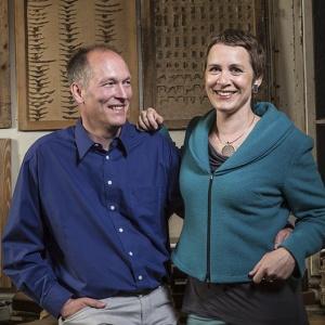 Stefanie Dingel - Hagen Stein und Stefanie Dingel-Porttrait